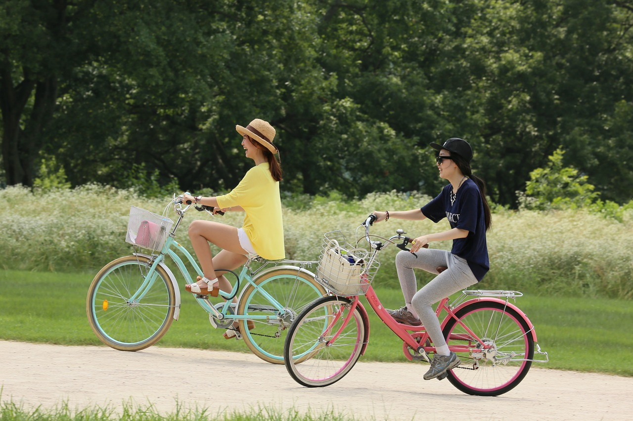 Na hubnutí je výborná i jízda na kole